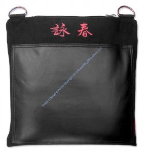 Everything Wing Chun - Ultimate Wall Bag - Single Section - Genuine Leather